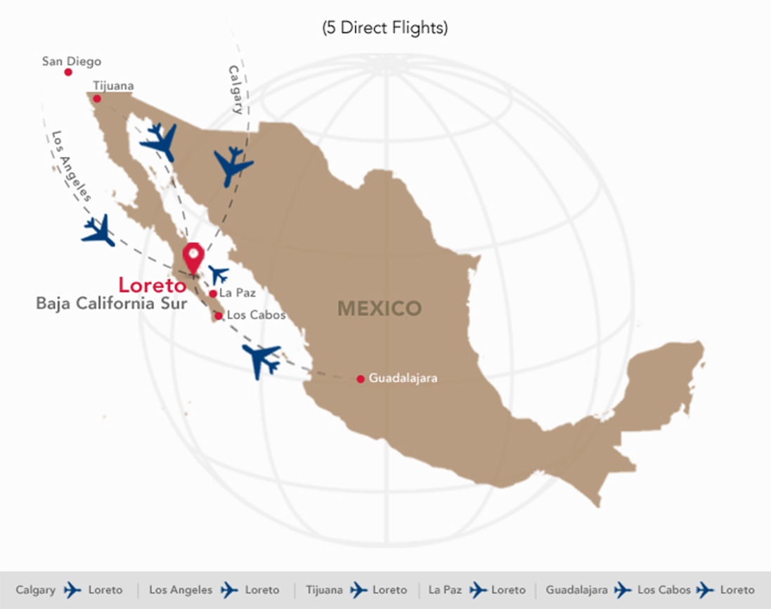 Traveling To Marina Puerto Escondido Flight Information At Loreto